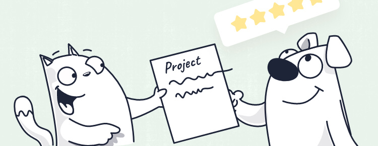 how to get customer testimonial - upon project completion