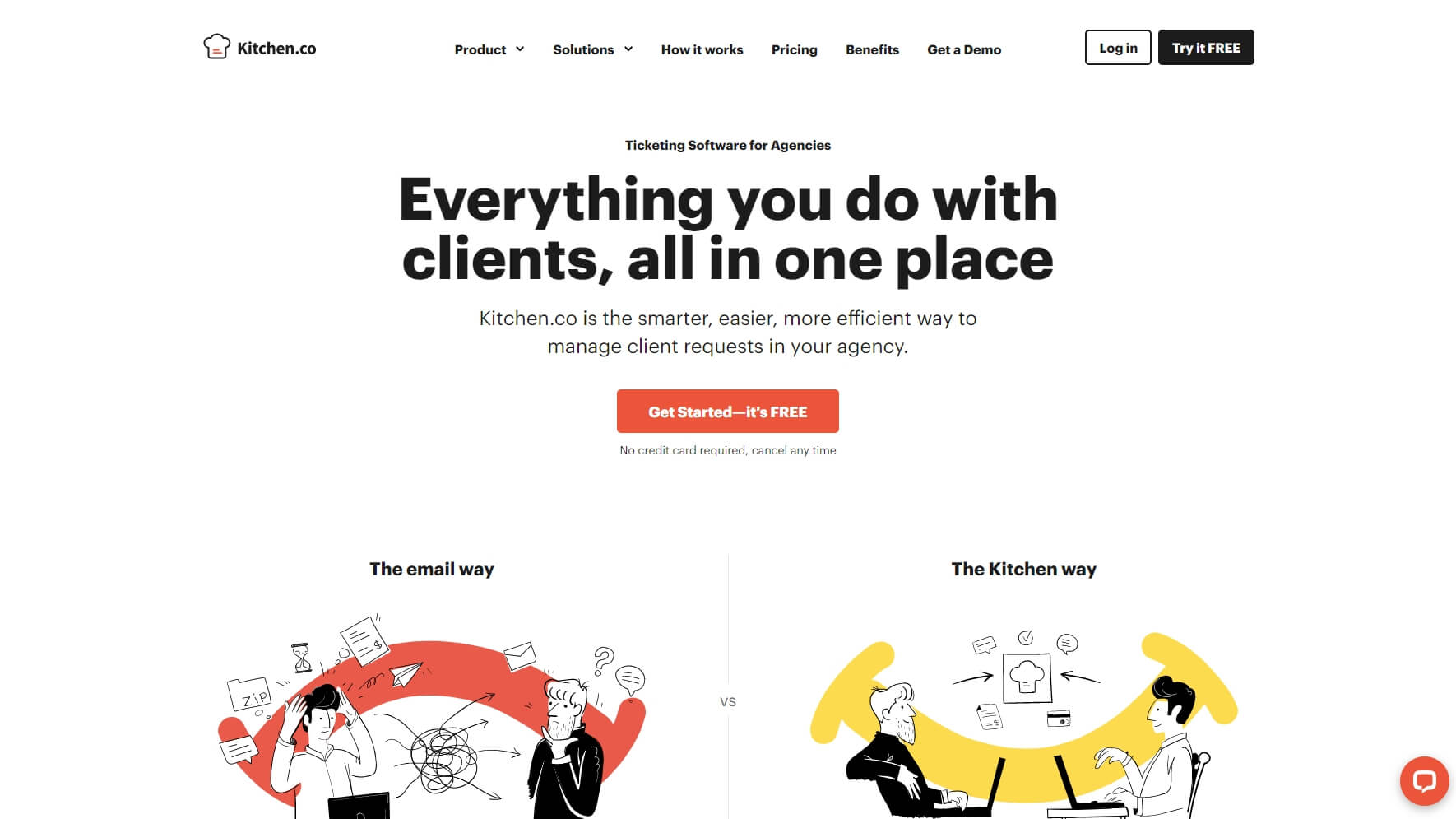 Kitchen.co - Project Management Tool