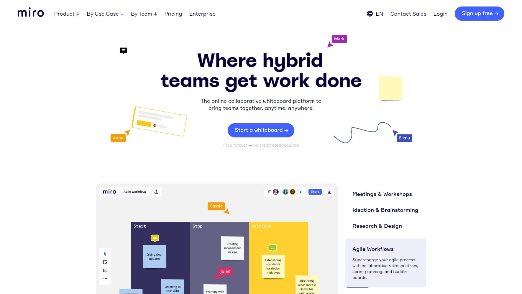Miro - Project Management Tool
