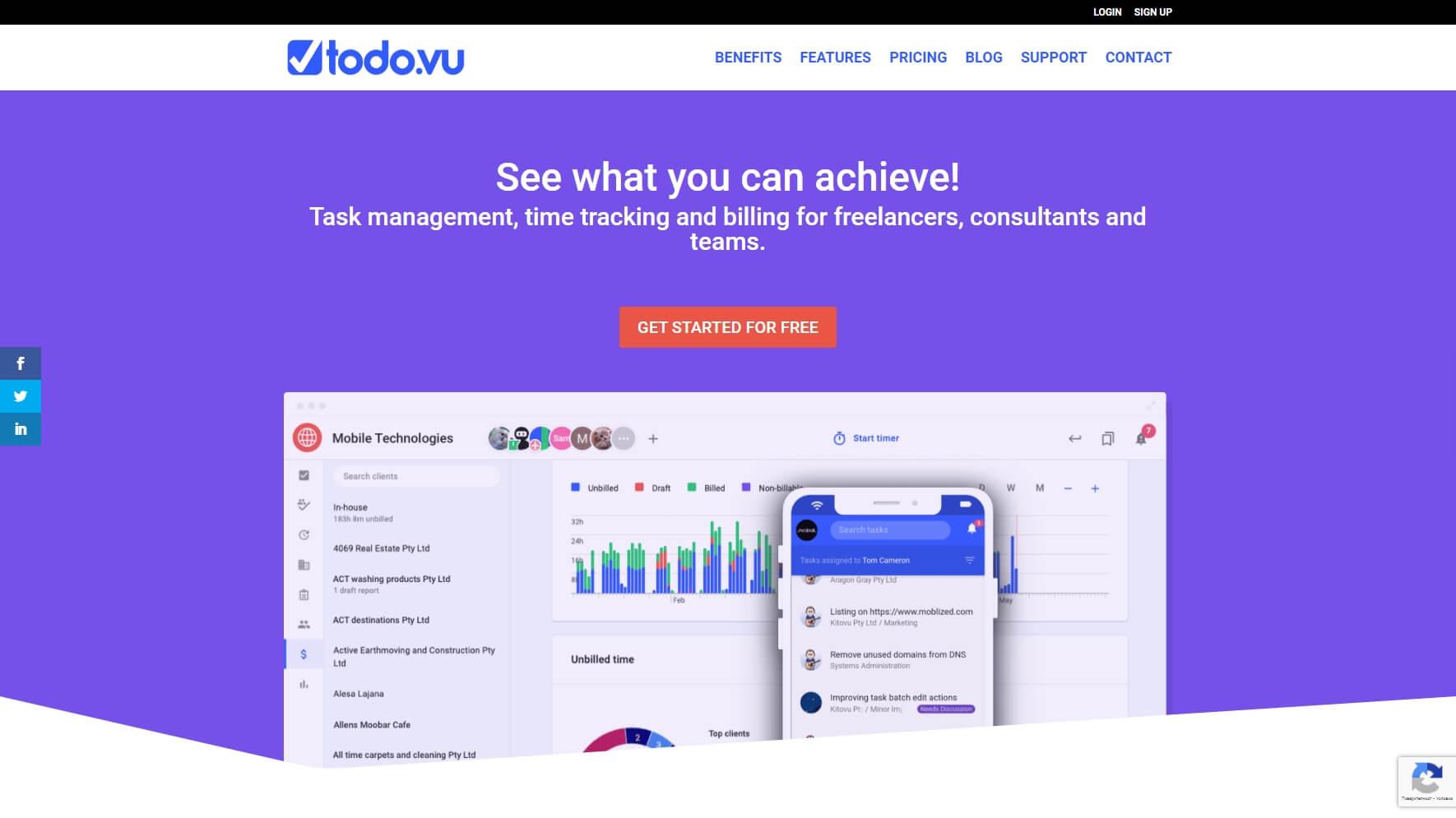 Todo.vu - Project Management Tool